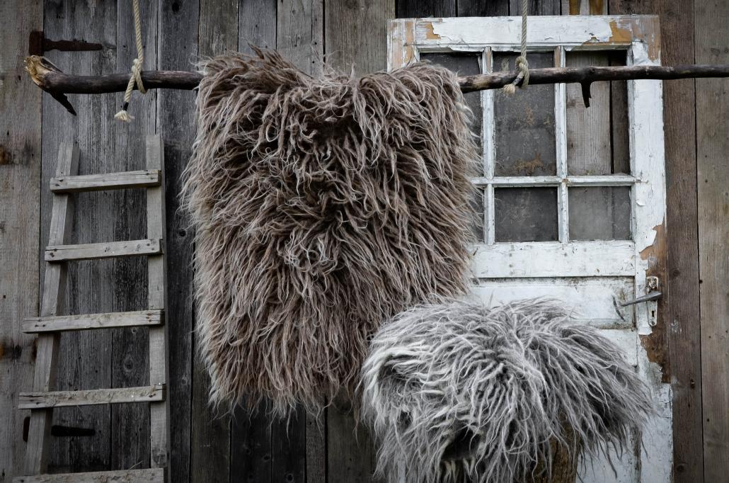 Long Wool - brown | gray | WOL