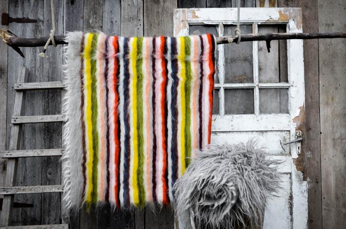 Short Wool   striped   - full color   Long wool - grey   WOL