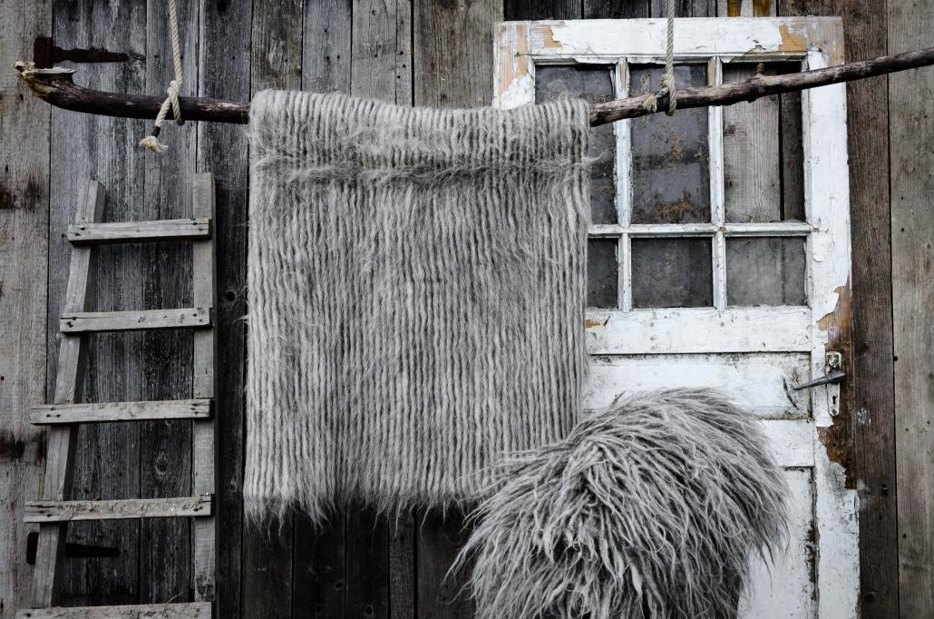 Short Wool | Long wool - gray | WOL