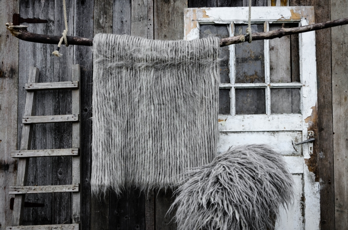 Short Wool   Long wool - gray   WOL