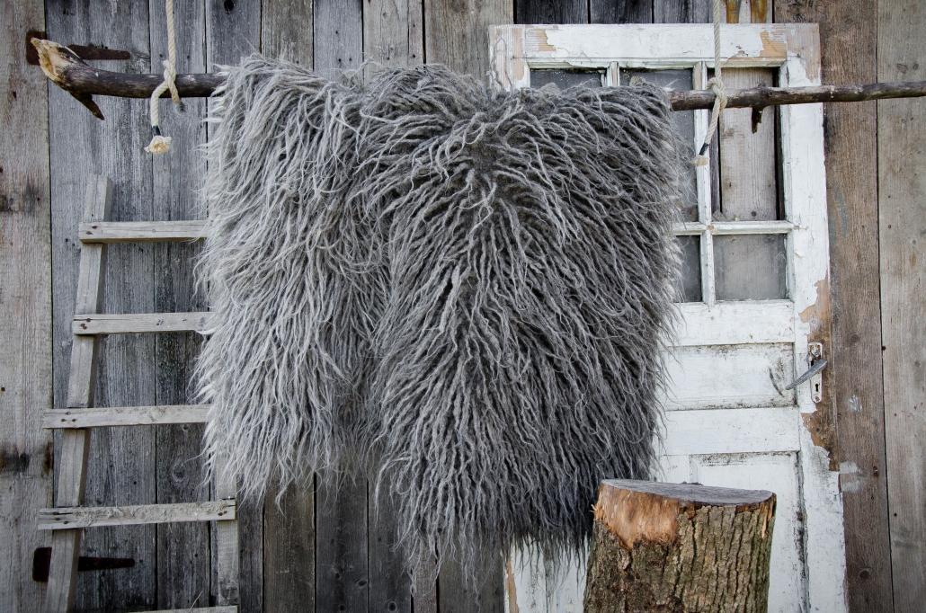 Long Wool - light gray | dark gray | WOL