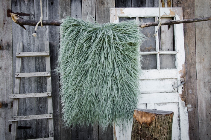 Long wool - green | WOL