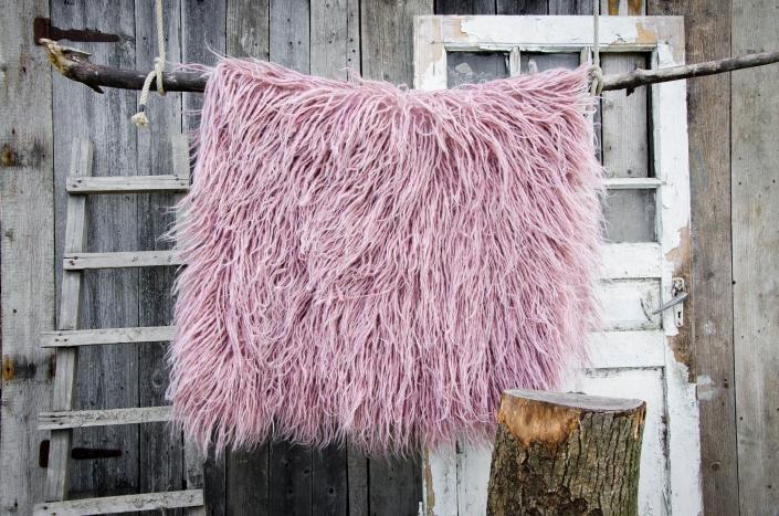 Long Wool - pink | WOL