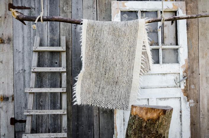 Short Wool - grey   WOL