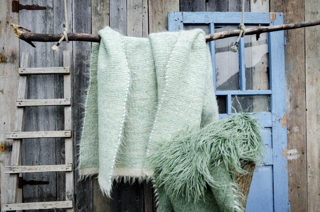 Short Wool | Long Wool - green | WOL